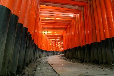 Templo de las Mil Puertas de Kioto