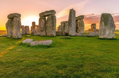 una breve visita a Stonehenge