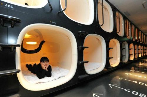 Los mejores hoteles capsula de Japon