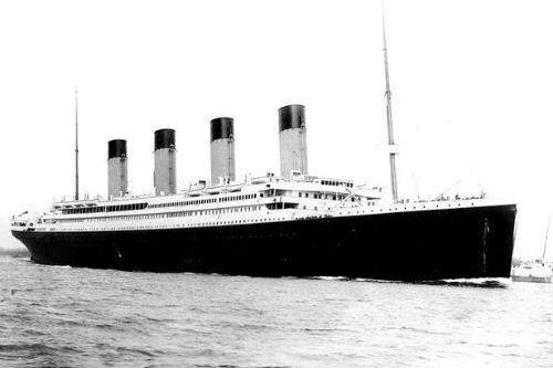 naufragio titanic